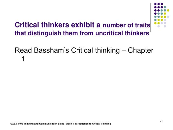 week 5 critical thinking crt essay Free essay: associate level material critical analysis forms fill  crt 205 final paper  wealth of arguments to which you can apply your critical thinking.