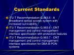 current standards4