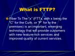 what is fttp