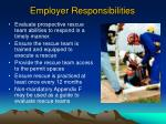 employer responsibilities