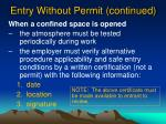 entry without permit continued1