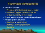 flammable atmospheres1