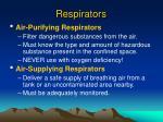 respirators
