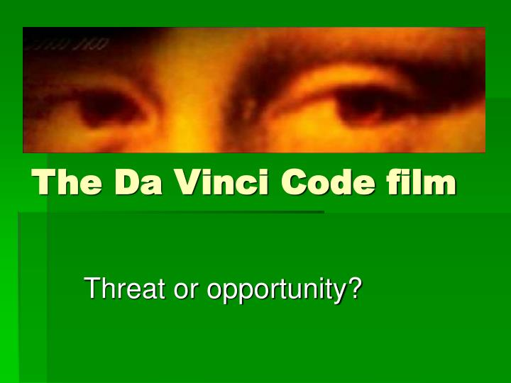 the da vinci code film n.