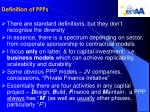 definition of ppps