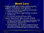 moon lore