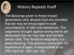 history repeats itself3