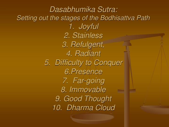 Dasabhumika Sutra: