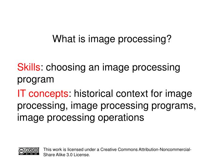 what is image processing n.