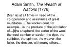 adam smith the wealth of nations 1776