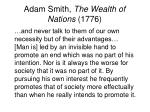 adam smith the wealth of nations 17762