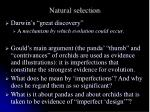natural selection1