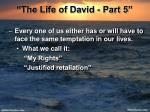 the life of david part 51