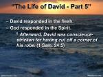 the life of david part 511