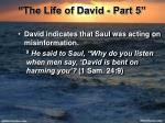the life of david part 516