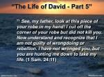 the life of david part 519