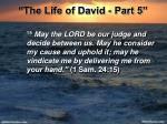 the life of david part 522