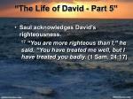 the life of david part 524