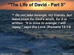 the life of david part 53