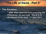 the life of david part 56