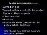 gender mainstreaming16