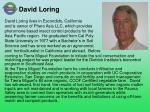 david loring