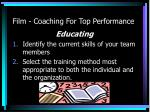 film coaching for top performance1