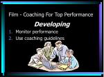 film coaching for top performance2