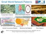 small world network patterns1