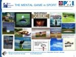 the mental game in sport