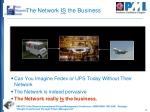 the network is the business