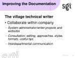 improving the documentation5