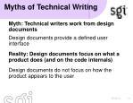 myths of technical writing2