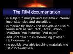 the rim documentation