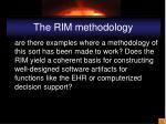the rim methodology1