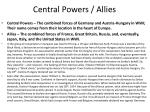 central powers allies