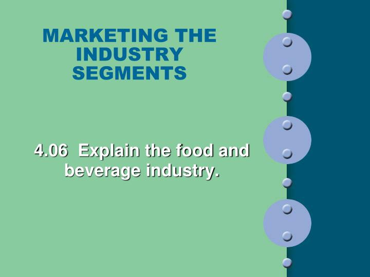 marketing the industry segments n.