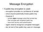 message encryption1