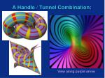 a handle tunnel combination