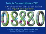 twist is counted modulo 720