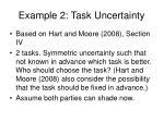example 2 task uncertainty