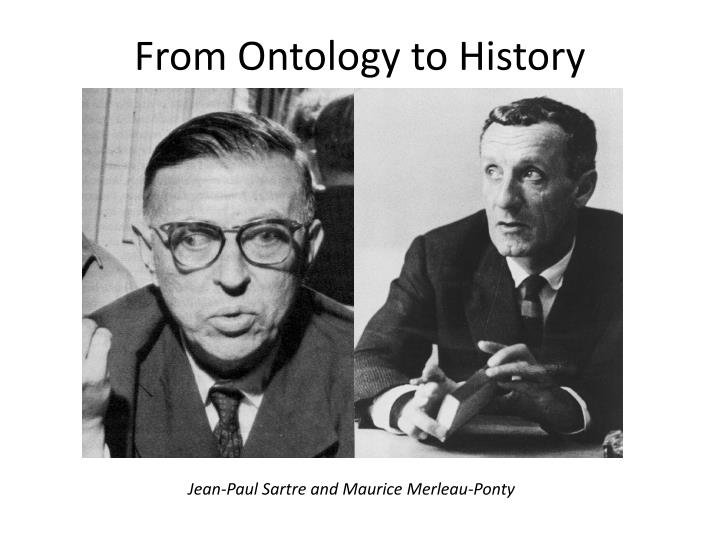 from ontology to history n.