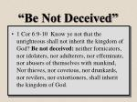 be not deceived1