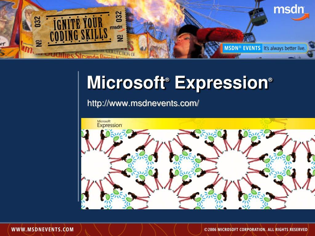 microsoft expression l.