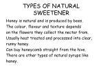 types of natural sweetener2