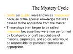 the mystery cycle1