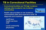 tb in correctional facilities