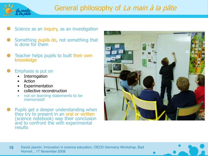 General philosophy of