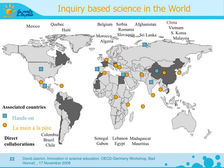 Inquiry based science in the World