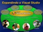 expandindo o visual studio